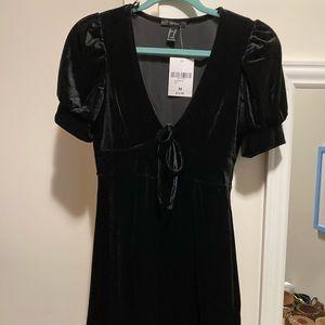 NWT Velvet Mini Dress
